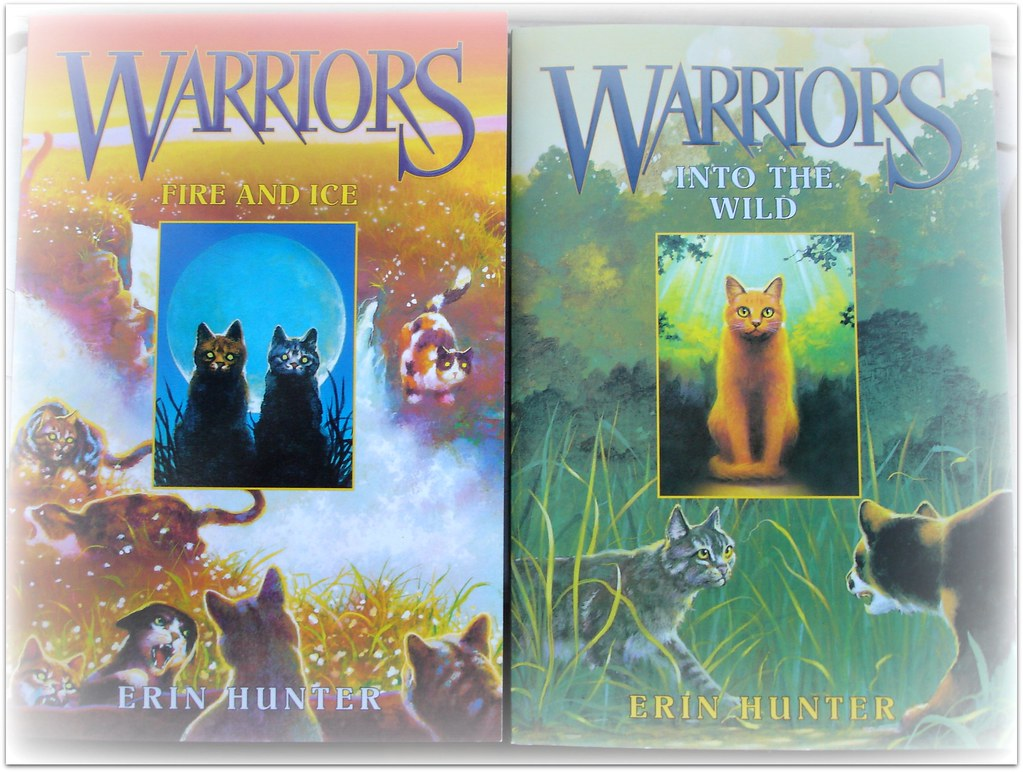 Warrior cat books
