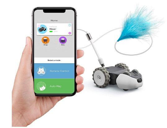 Petronics Mousr Interactive Robotic cat Toy