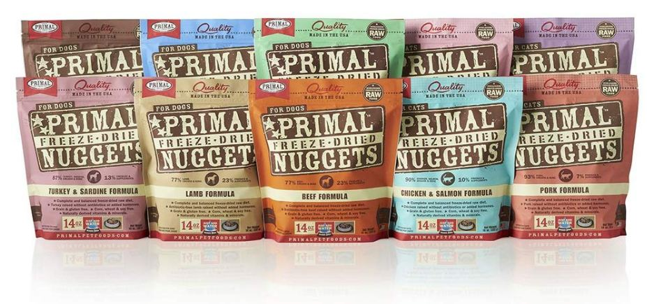Cat Food, Primal Freeze-Dried Cat Food
