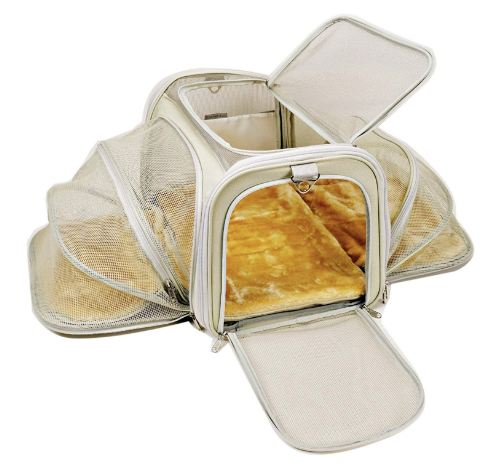 Jet Sitter Luxury Soft-Sided Cat Carrier