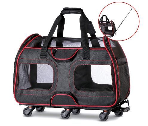 Removable Wheeled Pet Carrier