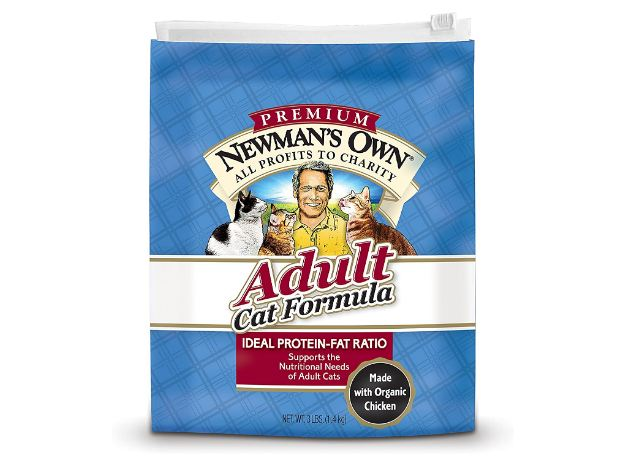 Newman's Own Advanced Cat Dry Formula