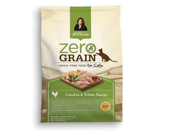 Rachael Ray Nutrish Zero Grain Natural Dry Cat Food